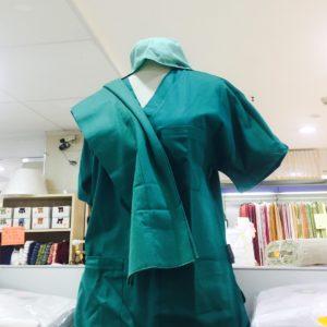 casacca verde medico