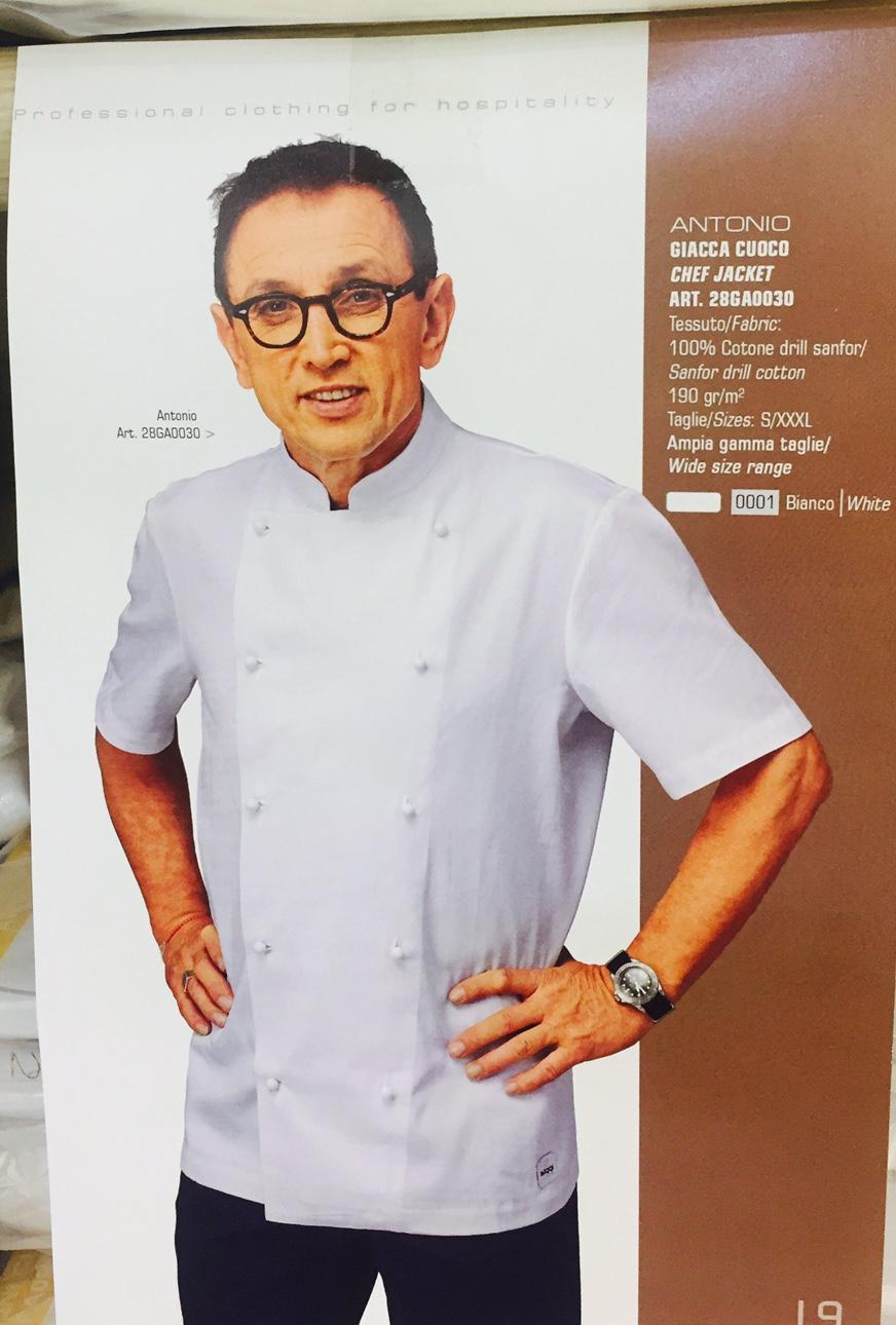 giacca cuoco